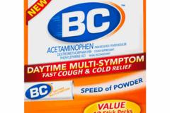 Liquidation/Wholesale Lot: BC Daytime Multi-Symptom Fast Cough & Cold Relief Powders -case o