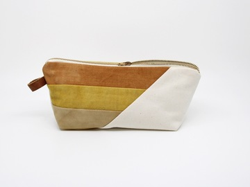Selling: Large Zipper Pouch - Desert