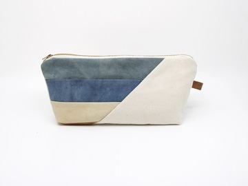 Selling: Large Zipper Pouch - Lakeside