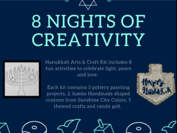 Selling with online payment: 8 Nights of Creativity DIY Craft Kit