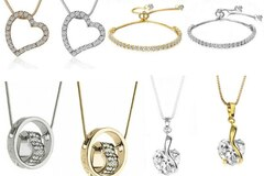 Buy Now: 12 Assorted pieces our best sellers Swarovski Elements Jewelry
