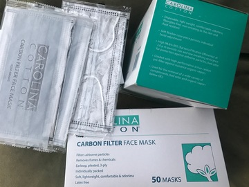 Buy Now: 4-Ply INDIVIDUALLY SEALED WRAPPED Medical Carbon Filter Face Mask