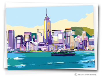 : VICTORIA HARBOUR - BLANK CARD
