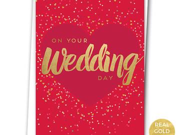 : WEDDING CONFETTI - WEDDING CARD