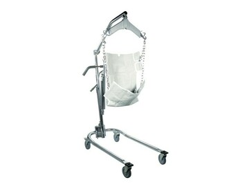 SALE: Drive Medical Hydraulic Deluxe Chrome-Plated Patient Lift