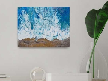Selling with online payment: SALE: Original Coastal Painting