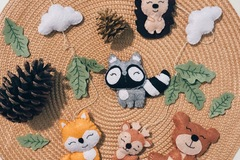 : Woodland Baby Crib Mobile