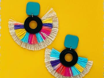 Selling with online payment: Summer Tassel Earrings