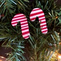 Selling with online payment: Candy Cane Lane Earrings
