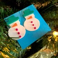 Selling with online payment: Snow-People Earrings