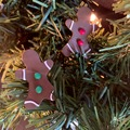 Selling with online payment: Gingerbread People Earrings
