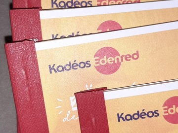 Vente: Lot de 8 chéquiers Kadeos Infini (400€)