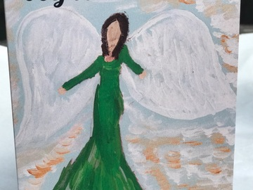 Selling with online payment: Angel Cards, Box of 10