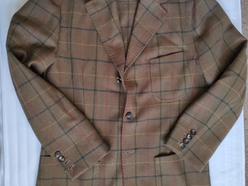 Selling with online payment: Isaia Napoli Vintage Tweed Overshirt/Jacket