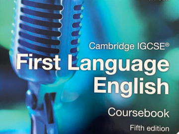 Selling with online payment: Cambridge IGCSE - First language English coursebook (Cambridge Un