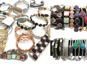 Buy Now: 80 PIECES Boutique Bracelets Great Mix & Variety