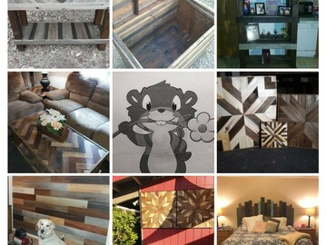 Services: Custom handmade furniture