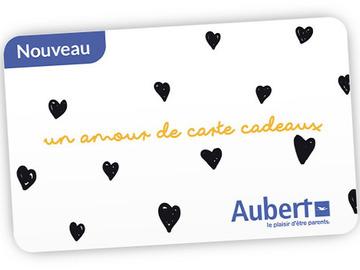 Vente: E-carte cadeau Aubert (250€)