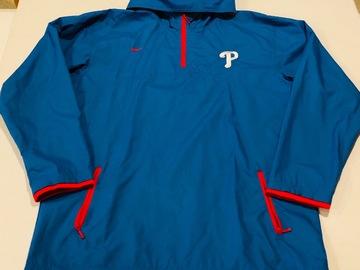 Selling A Singular Item: Phillies Windbreaker Pullover Jacket