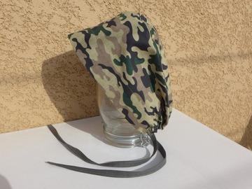 Vente au détail: Calot chirurgical, chapeau de bloc en  coton motif camouflage
