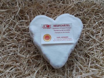 Vente avec paiement en direct: Fromage coeur Neufchâtel AOP