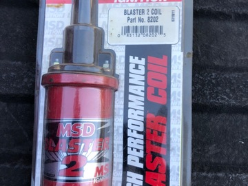 Selling with online payment: MSD Blaster 2 coil brand new