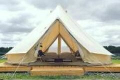 Renting out with online payment: Glamping Large Teepee Tent