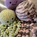 Selling with online payment: 18-inch Hand Crocheted Stuffed Octopus