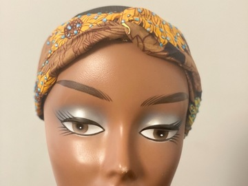 For Sale: Autum stoned Ankara print headband