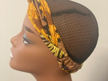 For Sale: Autum Ankara print headband