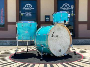 Selling with online payment: Sonor Vintage Series 3pc Kit in California Blue 13x8, 16x14, 22x1
