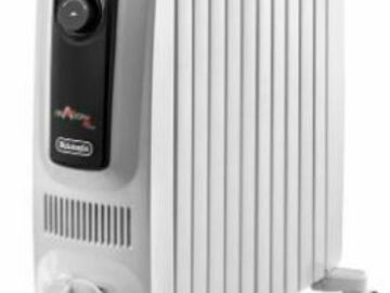 Renting out with online payment: DeLonghi 2500W Oil Filled Radiator