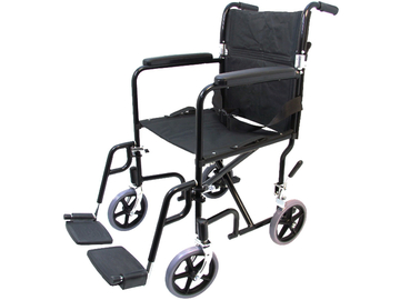 """SALE: Transport Wheelchair 19"""" 