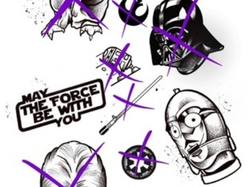 Tattoo design: Star Wars Flash