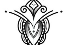 Tattoo design: Ornamental