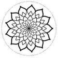 Tattoo design: Mandala 3