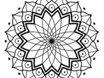 Tattoo design: Mandala 2