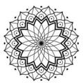 Tattoo design: Mandala 2