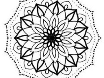 Tattoo design: Mandala