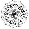 Tattoo design: Mandala