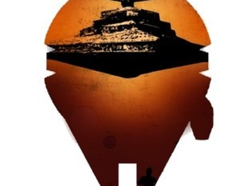 Tattoo design: Star Wars - Ship concept