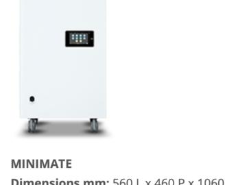 Produkt: Jonix Minimate Air filtration and sanitisation effect. Corona
