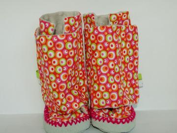 Vente au détail: Chaussons - couleur acidulée