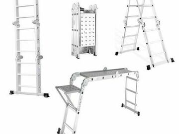 Renting out with online payment: Multi Purpose Scaffold ladder