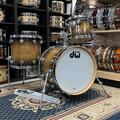 Selling with online payment: DW Jazz Series Drums in Natural to Candy Black Burst Lacquer over