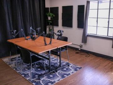 Rent Podcast Studio: Full Service Professional Audio and Video Podcast Studio