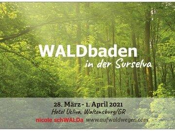 Workshop Angebot (Termine): WALDbaden in der Surselva