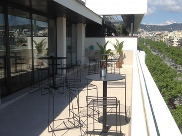 Renting with online payment: Terraza con vistas