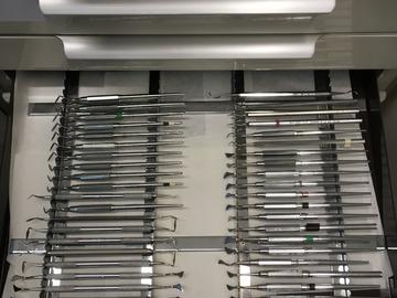 Gebruikte apparatuur: Gingivectomie messen