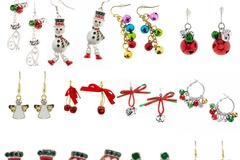 Buy Now: 120 pairs of Christmas Earrings. Opportunistic deal. $0.75 Each